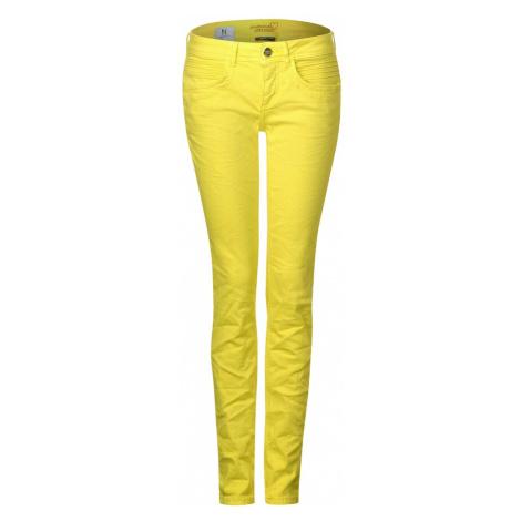 STREET ONE Jeansy żółty