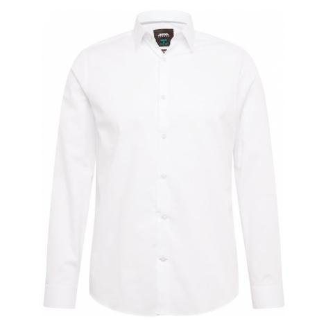 BURTON MENSWEAR LONDON Koszula biznesowa 'SSC WHT DOBBY STRTCH' biały