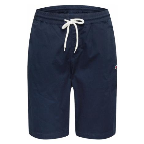 Champion Authentic Athletic Apparel Spodnie 'Cargo Bermuda' ciemny niebieski / mieszane kolory