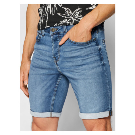 Only & Sons Szorty jeansowe Ply 22018584 Granatowy Regular Fit
