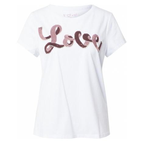 LIEBLINGSSTÜCK Koszulka 'Daleni' biały / bordowy