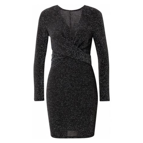 ONLY Sukienka 'New Queen' srebrny / czarny
