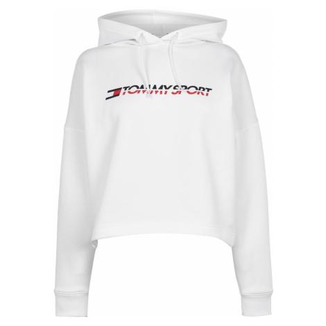 Bluza z kapturem Tommy Sport Tommy Crop Logo Tommy Hilfiger