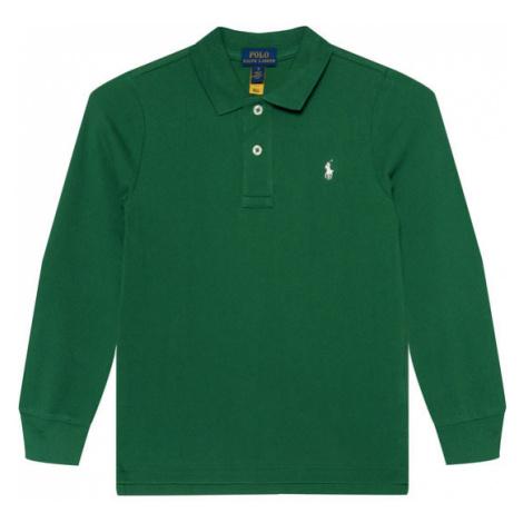 Polo Ralph Lauren Polo Ls Kc 322703634023 Zielony Regular Fit
