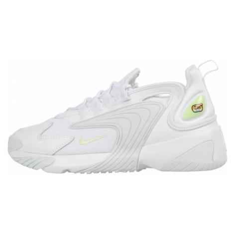 Nike Sportswear Trampki niskie 'Zoom 2K' neonowo-żółty / biały