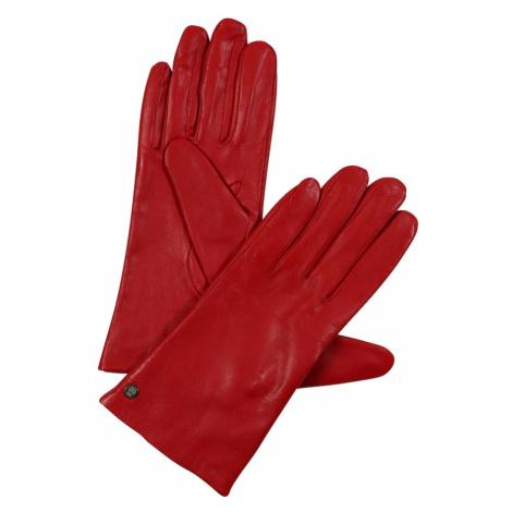 ROECKL Rękawiczki pięciopalczaste 'Classic Slim' czerwony