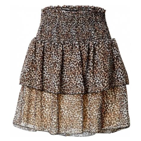 Trendyol Spódnica brązowy / beżowy