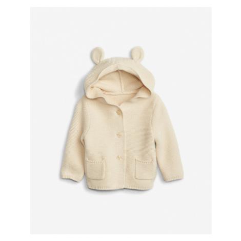 GAP Sweter dziecięcy Beżowy