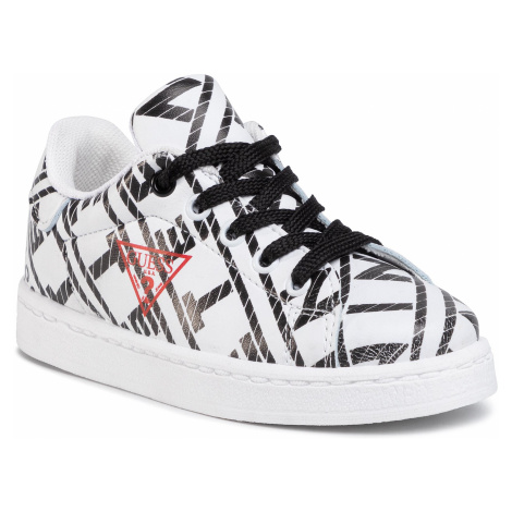 Sneakersy GUESS - Luiss Jr FI7LSS ELE12 WHBLK