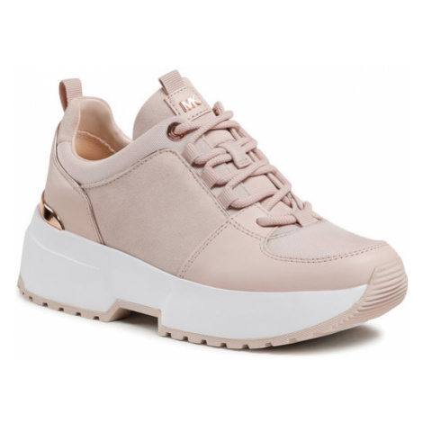 MICHAEL Michael Kors Sneakersy Cosmo Trainer 43F9CSFS3S Różowy