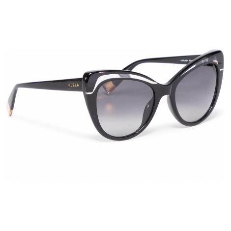 Okulary przeciwsłoneczne FURLA - Sunglasses SFU405 405FFS9-RCR000-H7200-4-401-20-CN-D Nero/Color