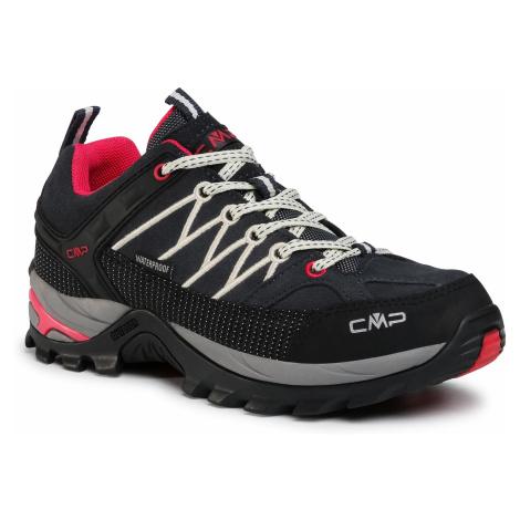 Trekkingi CMP - Rigel Low Wmn Trekking Shoes Wp 3Q13246 Antracite/Off White 76UC