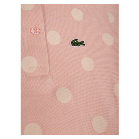 Lacoste Polo PJ5010 Różowy Regular Fit