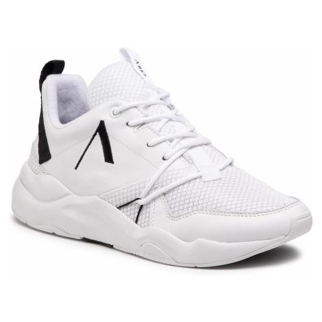 Sneakersy ARKK COPENHAGEN - Asymtrix Mesh F-PRO90 CR3000-1099-M White Black