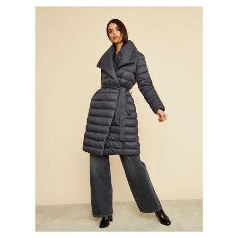 ZOOT czarny płaszcz zimowy Trisha