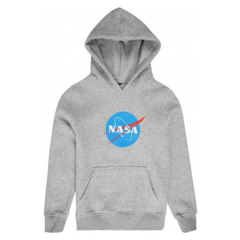 Mister Tee Bluza 'NASA' czerwony / szary / niebieski