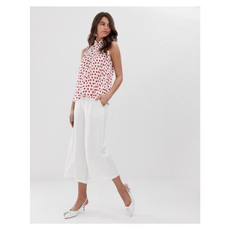 Closet wide leg trousers