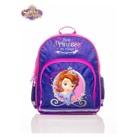 Plecak szkolny dla dziewczynek, wydrukowany SOFIA PIERWSZY