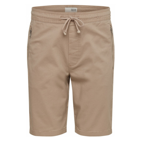 !Solid Spodnie 'Ron Zip Short' beżowy