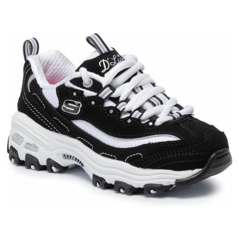 Sneakersy SKECHERS - D'lites Biggest Fan 80587L/BKW Black/White
