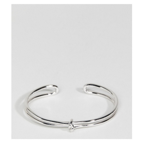 Olivia Burton 18 Silver Plated Forget Me Knot Cuff