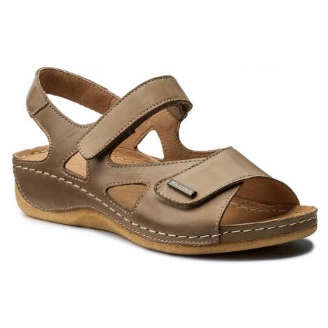 Sandały POLLONUS - 5-0994-001 Capucino