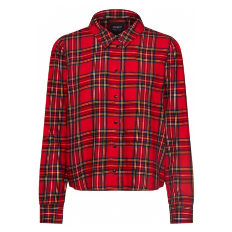 ONLY Bluzka 'JEZIE' czerwony