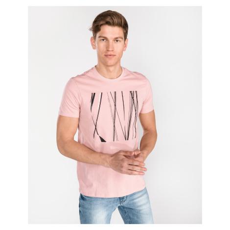 Armani Exchange Koszulka Beżowy