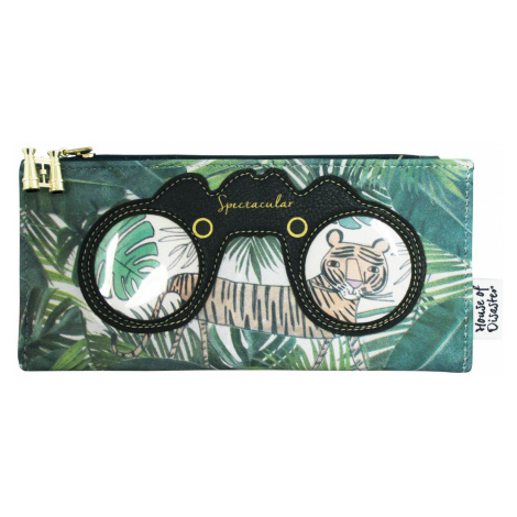 Disaster zielony portfel Eyespy Tiger