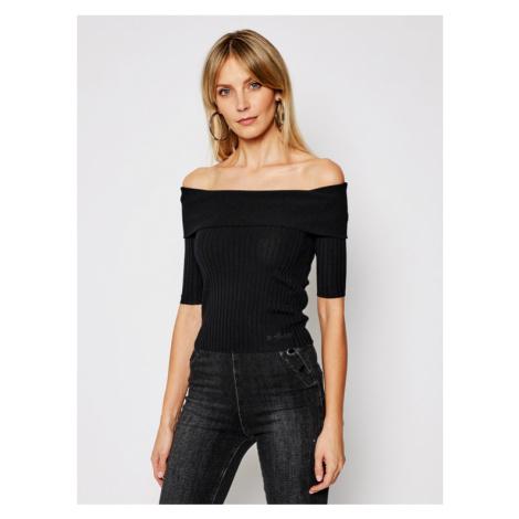 Guess Sweter Dayna W1GR0O Z2U00 Czarny Slim Fit