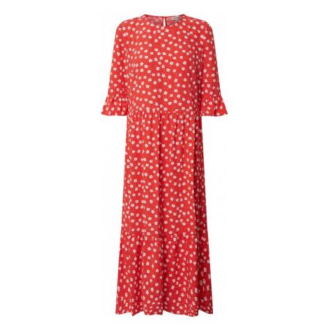 Miss Selfridge Sukienka czerwony