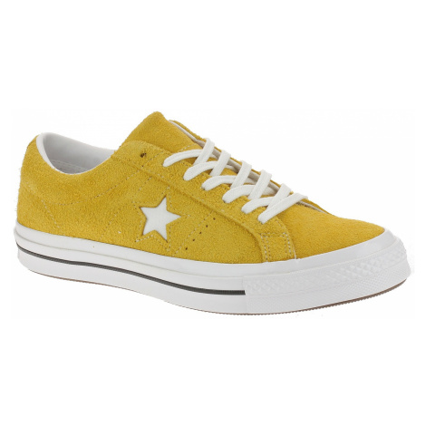buty Converse One Star Vintage Suede OX - 165033/Gold Dart/White/Black