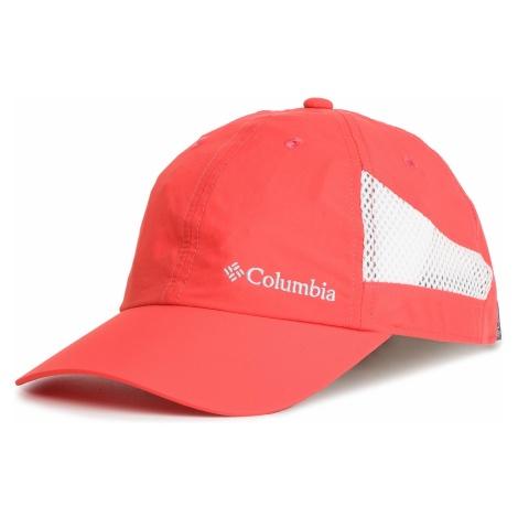 Czapka z daszkiem COLUMBIA - Tech Shade Hat 1539331 Red Coral 633