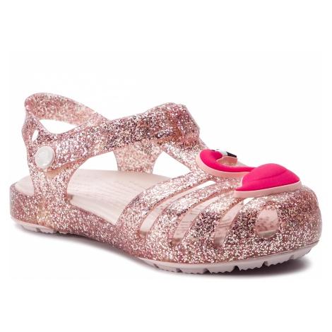 Sandały CROCS - Isabella Charm Sandal K 205535 Blush