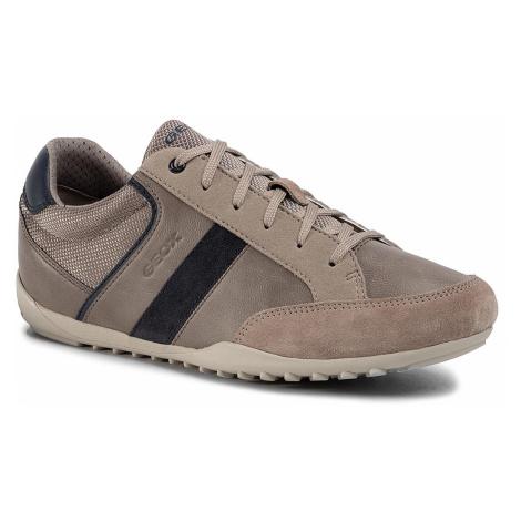 Sneakersy GEOX - U Garlan B U023GB 05422 C5004 Sand