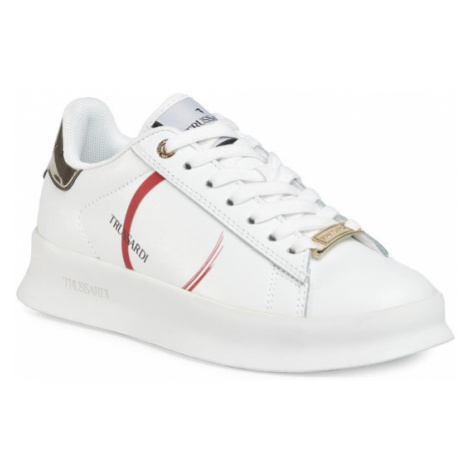Trussardi Jeans Sneakersy 79A00560 Biały