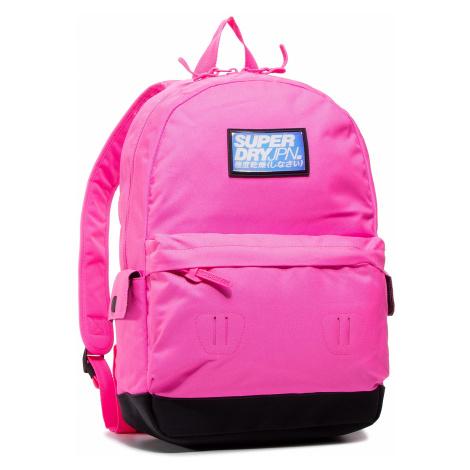 Plecak SUPERDRY - Cuba Montana W9110101A Neon Pink 24Y