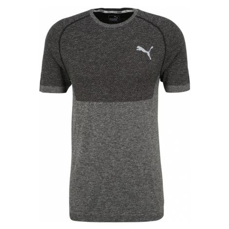 PUMA Koszulka funkcyjna 'evoKNIT' antracytowy