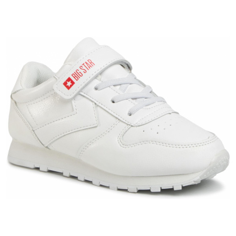 Sneakersy BIG STAR - GG374057 White