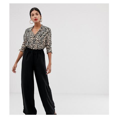 Vero Moda Tall Paperbag High Waist Wide Leg Trouser