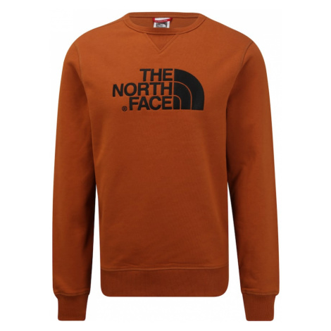 THE NORTH FACE Bluzka sportowa 'Drew Peak Crew' karmelowy / czarny