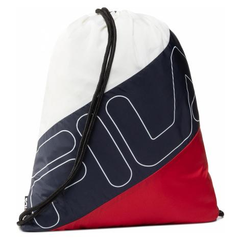 Plecak FILA - Gym Sack Double Mesh 685127 Black Iris/True Red/Bright White G06