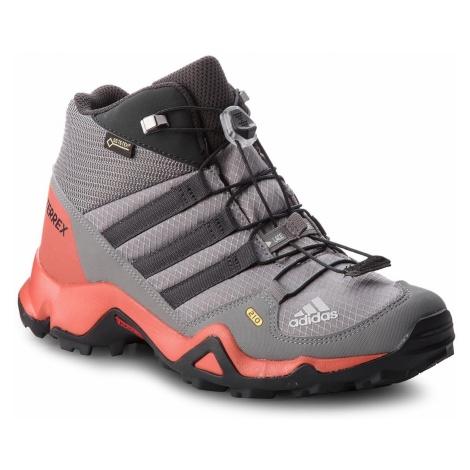 Buty adidas - Terrex Mid Gtx K GORE-TEX CM7711 Grethr/Grethr/Carbon
