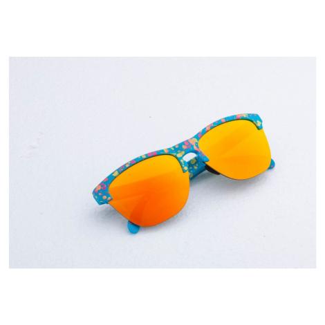 Oakley Frogskins Lite Splatterfade Sunglasses Sky Blue/ Fire Iridium