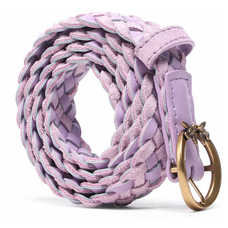 Pasek Damski PINKO - Love Berry Small Woven Belt. PE 21 PLT01 1H20W3 Y6XK Pink N29