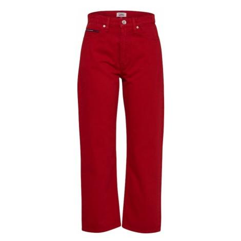 Tommy Jeans Jeansy czerwony Tommy Hilfiger