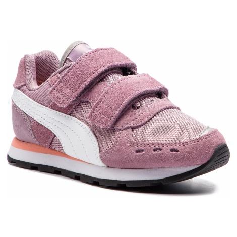 Sneakersy PUMA - Vista V Ps 369540 04 Eldberry/Puma White