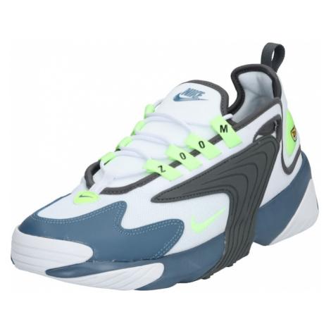 Nike Sportswear Trampki niskie 'Nike Zoom 2K' niebieski / biały / szary