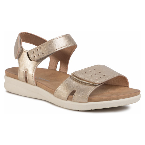 Sandały CLARA BARSON - WS1408-01 Gold