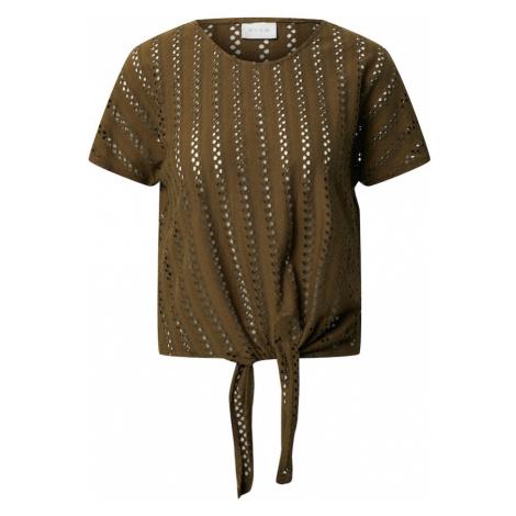 VILA Koszulka 'VIPILINE' oliwkowy